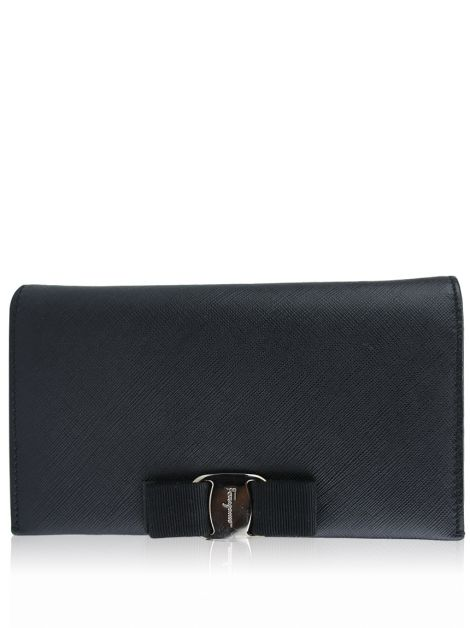 Clutch Salvatore Ferragamo Vara Wallet On Chain
