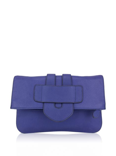 Clutch Tila March Zelig Azul