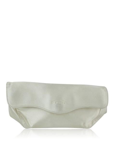 Clutch Tod's Cetim Off-White