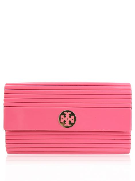 Clutch Tory Burch Resina Rosa