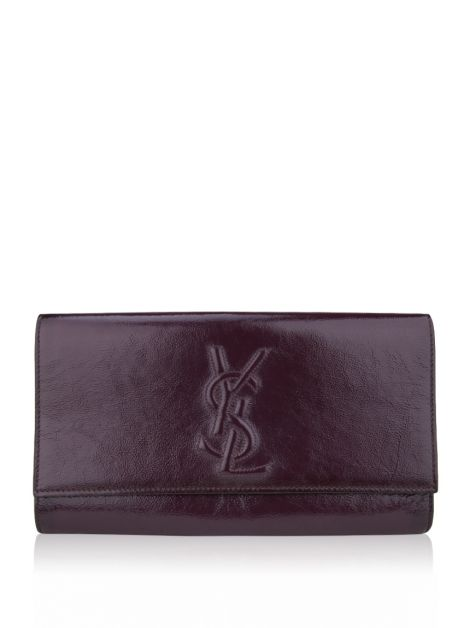 Clutch Yves Saint Laurent Belle Du Jour Uva