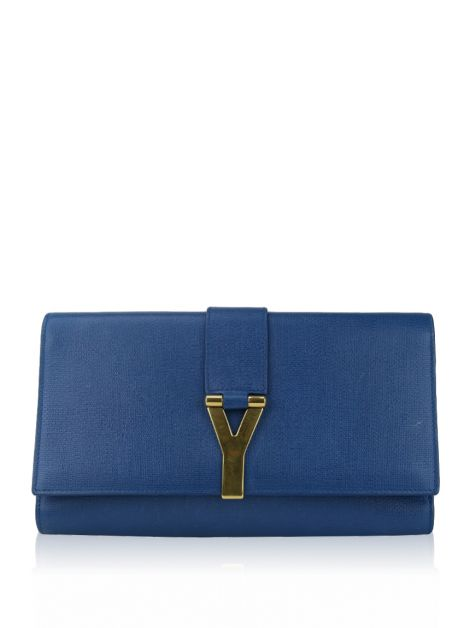 Clutch Yves Saint Laurent CHYC Azul