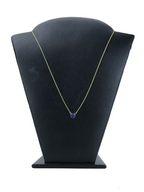 Colar Tiffany & Co Elsa Peretti Color by the Yard Lapis Lazuli Ouro