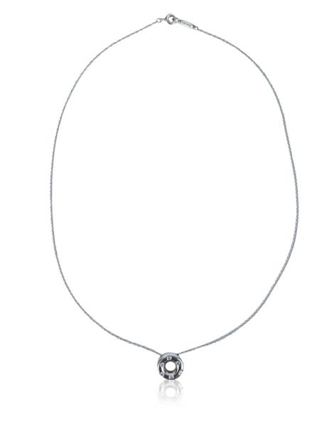 Colar Tiffany & Co Platina Diamantes