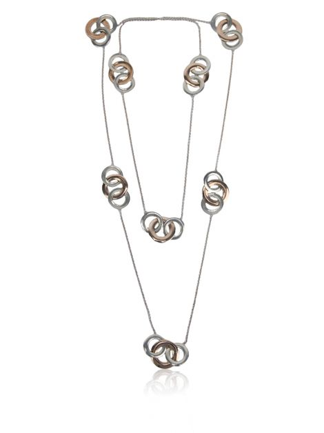Colar Tiffany & Co. Interlocking Circles