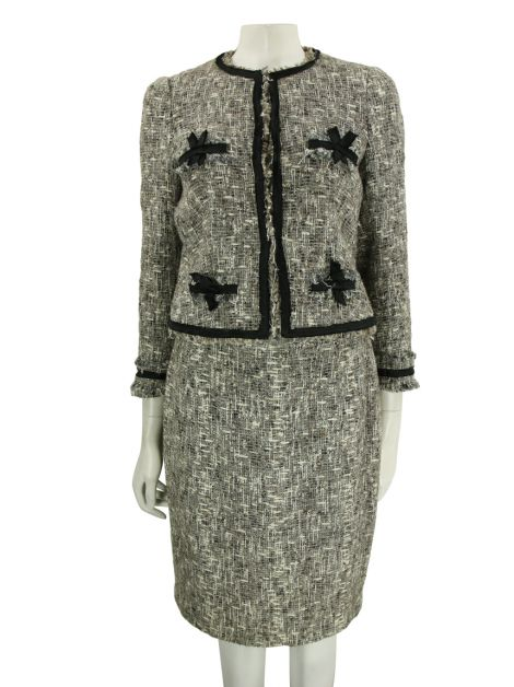 Conjunto Carolina Herrera Tweed Mesclado