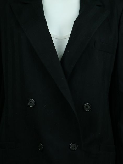 Conjunto Christian Dior The Suit Lã Preto