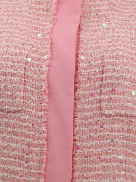 Conjunto Escada Tweed Rosa