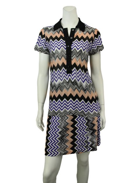 Conjunto Missoni Viscose Multicor