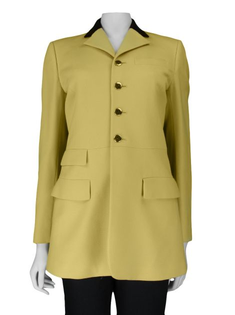 Conjunto Ralph Lauren Collection Lã Amarelo
