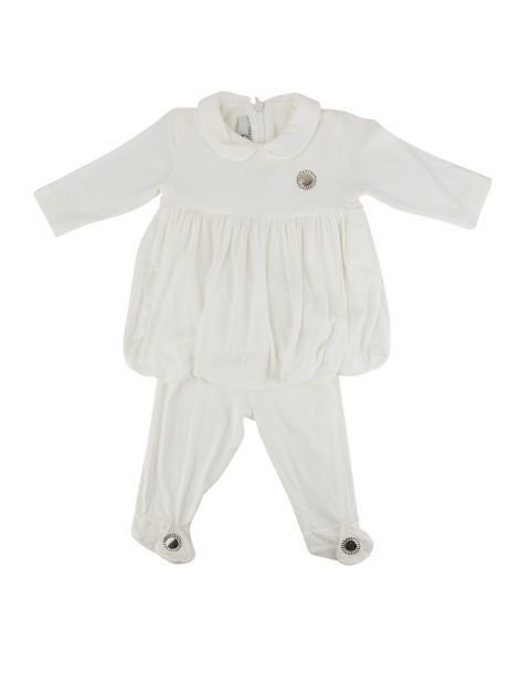 Conjunto Young Versace Off-White Infantil