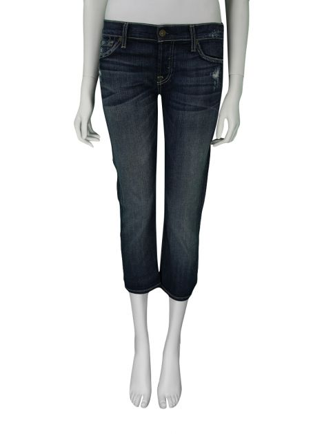 Calça Seven For All Mankind Crop Josefina Skinny Boyfriend