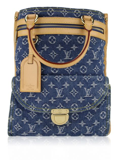 Bolsa Louis Vuitton Denim Monogram Sac Jeans