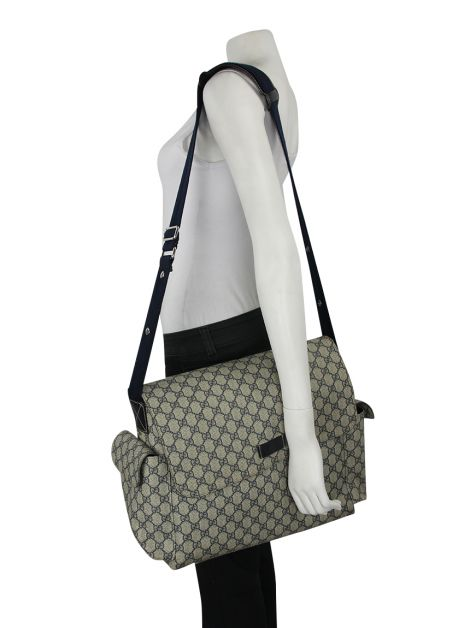 Bolsa Gucci Diaper Bag GG Plus