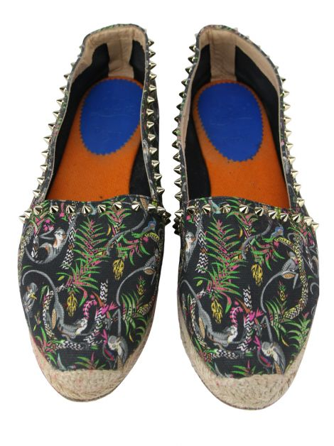 Espadrille Christian Louboutin Canvas Estampado