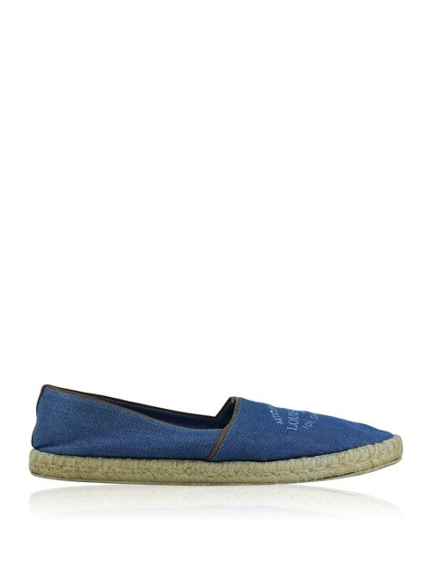 Espadrille Louis Vuitton Articles de Voyage Denim