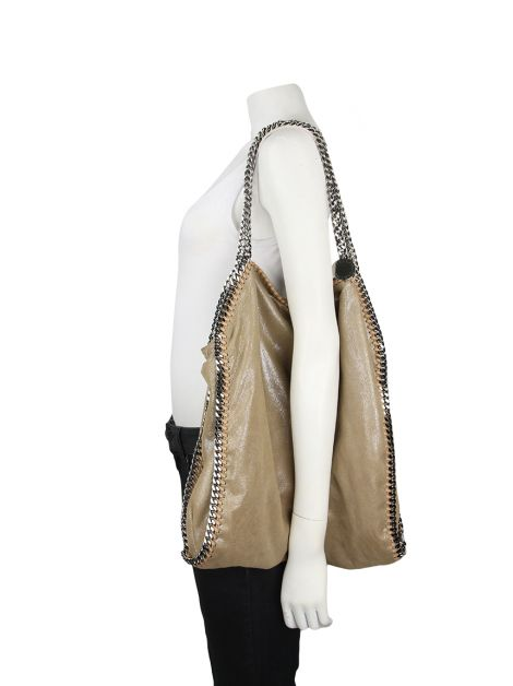 Bolsa Stella Mccartney Falabella Shaggy Big Tote Nude