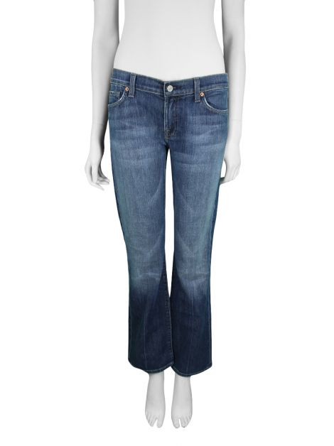 Calça Seven For All Mankind Flip Flop Jeans Azul