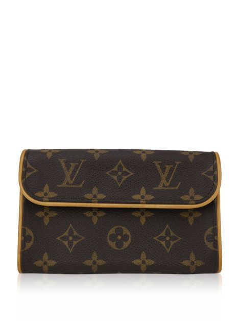 Clutch Louis Vuitton Canvas Florentine XS