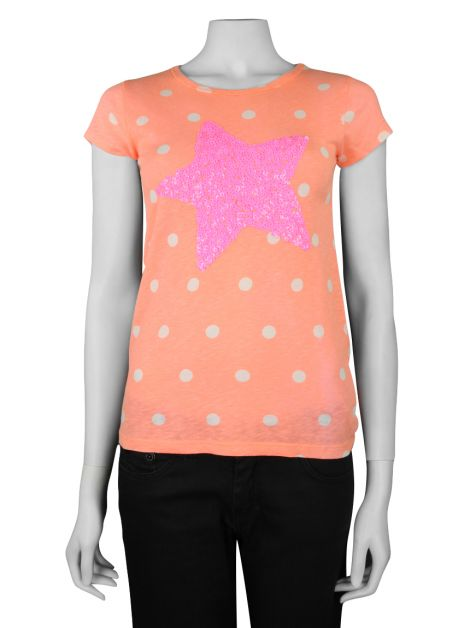 Camisa Crewcuts Girls Start Sparky T Shirt Infantil