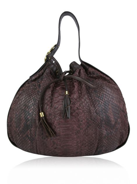 Bolsa Gucci Interlocking Icon Python