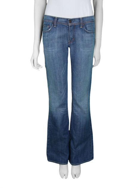 Calça Citizens Of Humanity By Jerome Dahan Low Waist Flair Jeans
