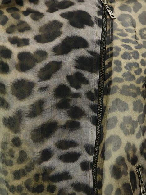Jaqueta Animale Seda Animal Print