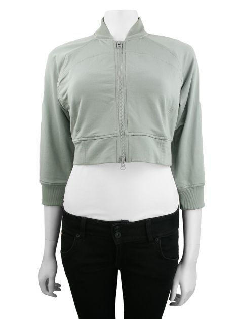 Jaqueta Armani Exchange Cropped Verde
