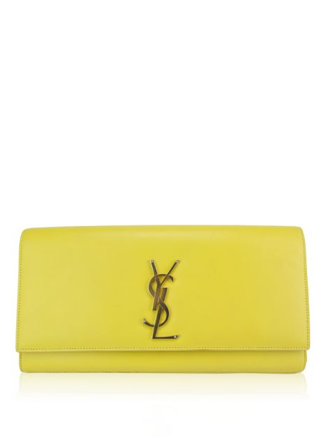 Clutch Yves Saint Laurent Kate Amarela