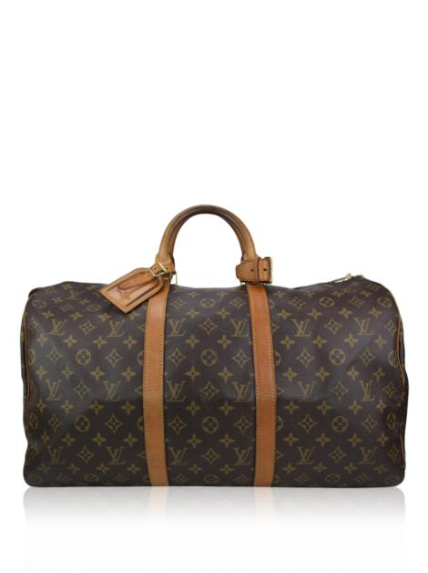 Mala Louis Vuitton Keepall 50 Monogram