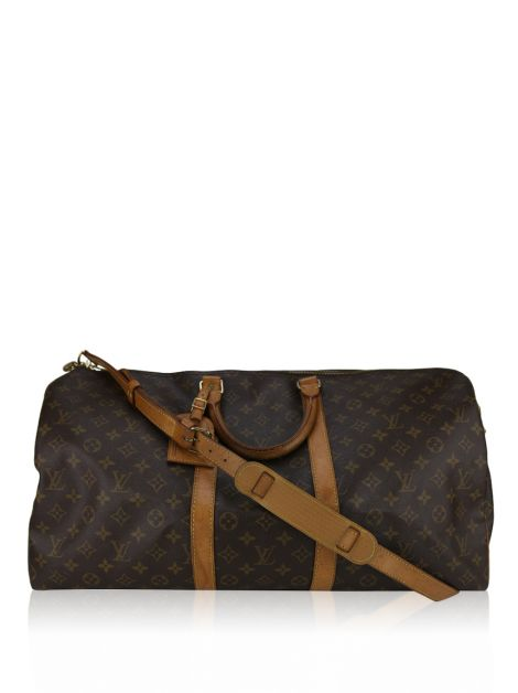Mala de Mão Louis Vuitton Keepall 55 Monograma