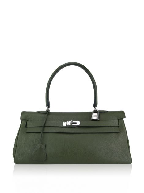 Bolsa Hermès Kelly Shoulder Verde