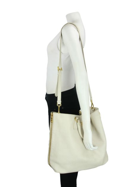 Bolsa Prada Large Shopping Tote Off-White