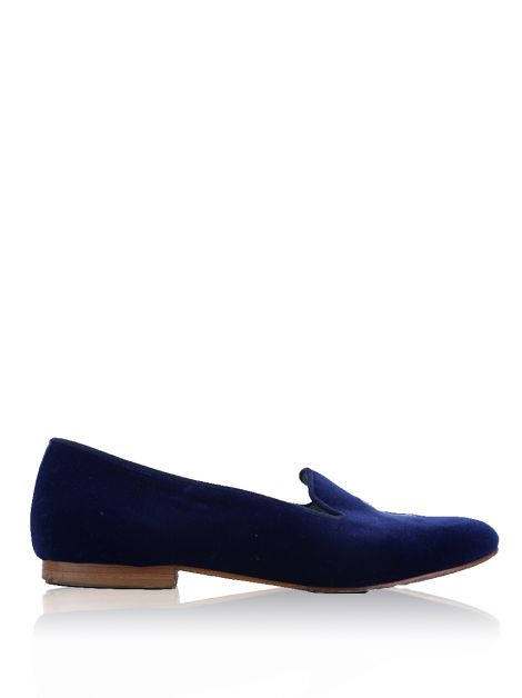 Loafer Blue Bird Bordado I Do
