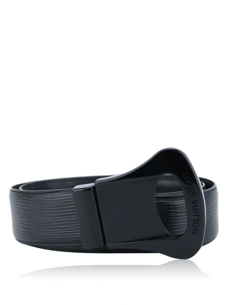 Cinto Louis Vuitton Lune Belt Preto