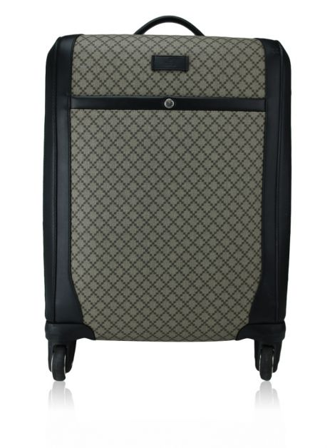 Mala Gucci Trolley Diamante Rolling Luggage Travel Estampada