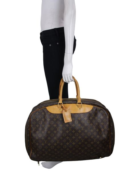 Mala Louis Vuitton Alize 3 Compartment Monograma