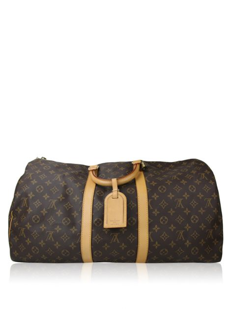 Mala Louis Vuitton Keepall 55 Canvas Monograma