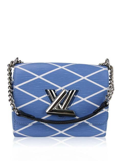 Bolsa Louis Vuitton Malletage Twist PM Bleu