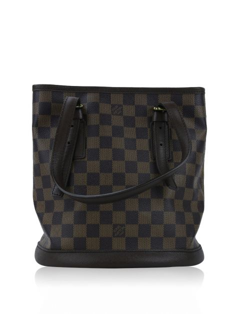 Bolsa Louis Vuitton Marais Bucket PM Damier Ébène