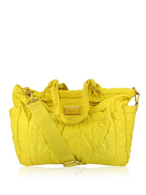 Marc by Marc Jacobs Eliz-A-Baby Pretty Nylon Diaper Bag Amarela