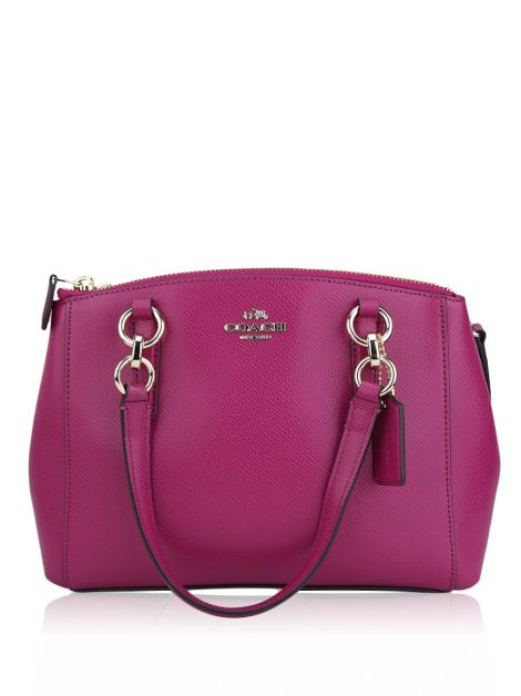 Bolsa Coach Mini Christie Fúcsia