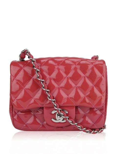 Bolsa Chanel Mini Flap Rosa