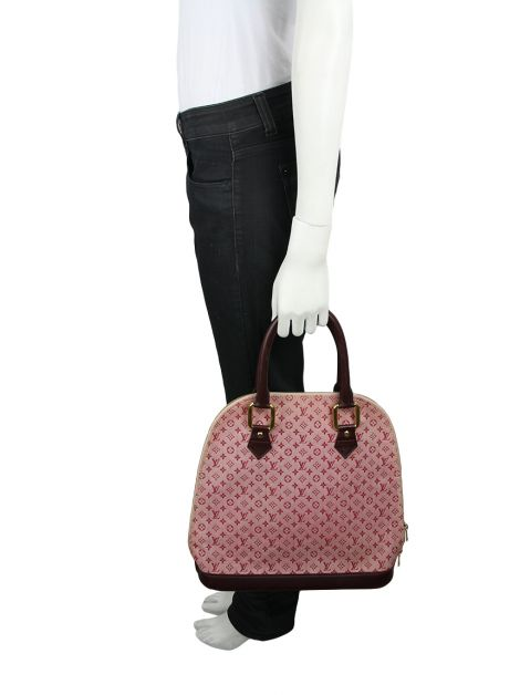 Bolsa Louis Vuitton Alma Haut Satchel Mini Lin