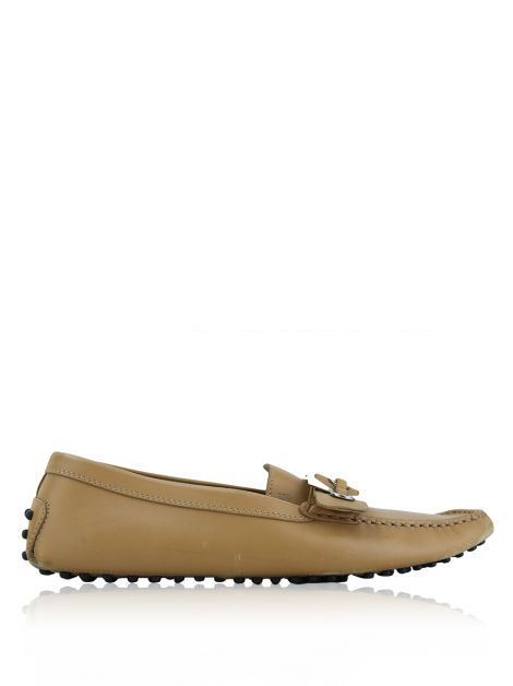 Mocassim Tod's Couro Bege