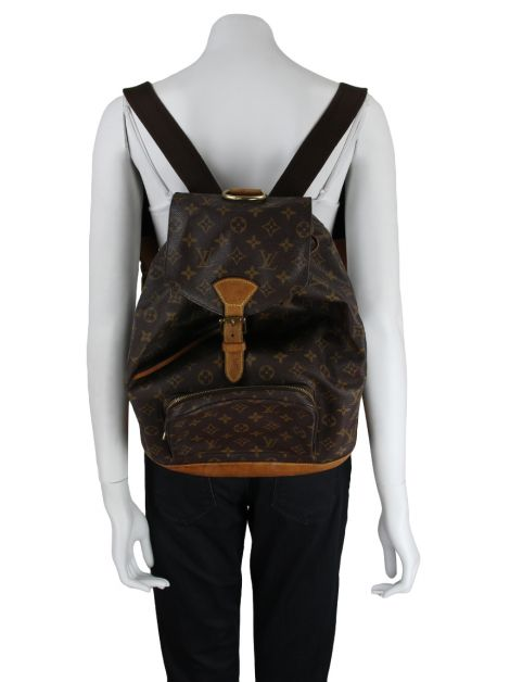 Mochila Louis Vuitton Montsouris Monograma