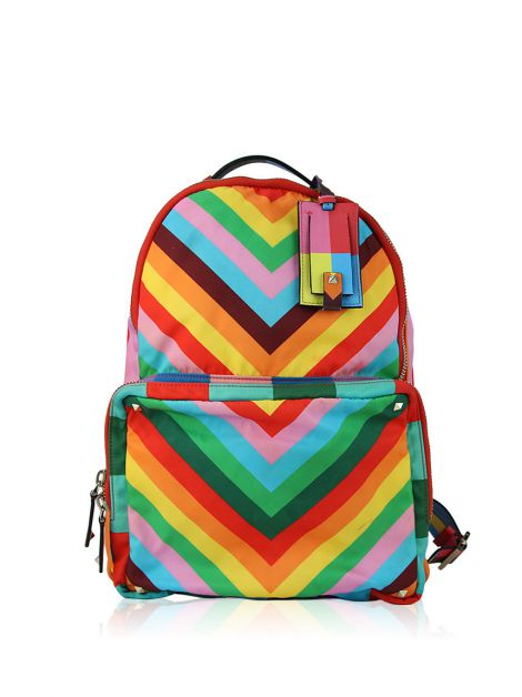 Mochila Valentino Rockstud Backpack In Multicolor