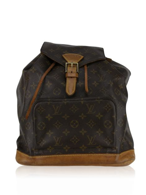 Mochila Louis Vuitton Montsouris Canvas