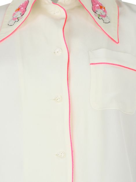 Camisa Olympia Le-Tan My Melody Off-White