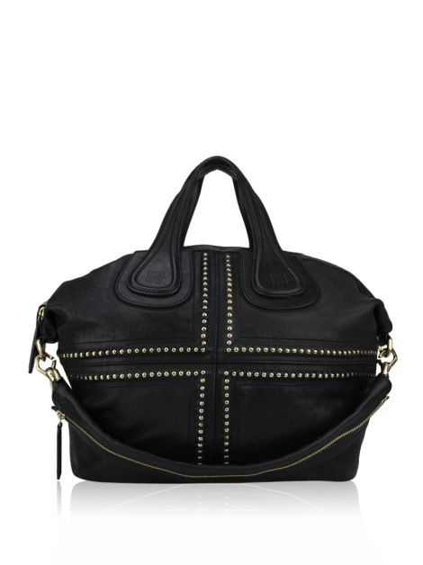 Bolsa Givenchy Nightingale Ball Chain Preto